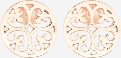 ELLI Kolczyki 'Ornament' w kolorze różowe złotom, Podgląd produktu