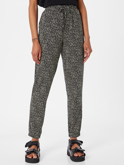 Pantaloni Orsay pe negru / alb, Vizualizare model