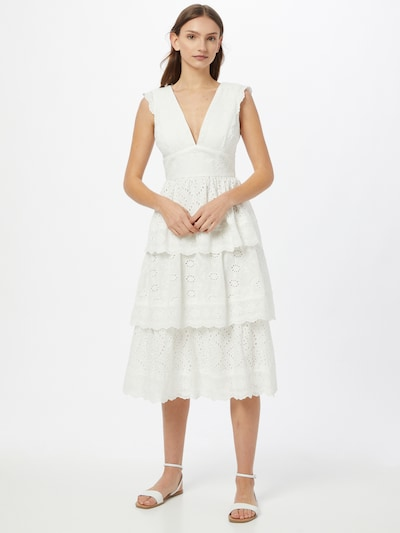 True Decadence Kleid in weiß, Modelansicht