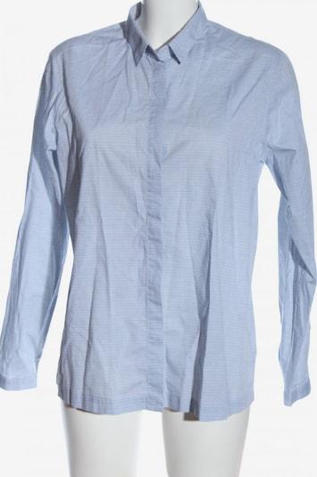 SCHIESSER Langarmhemd in L in blau / weiß, Produktansicht