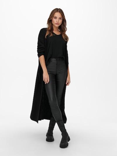 ONLY Cardigan 'Lucca' in schwarz, Modelansicht