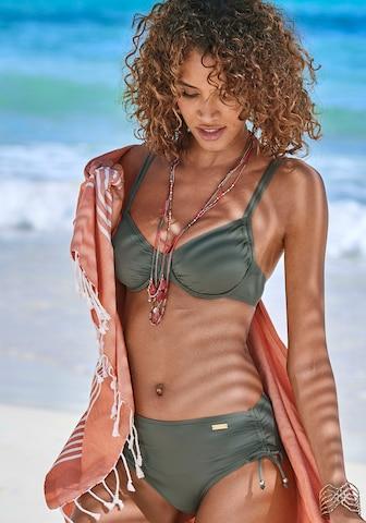 LASCANA Bikinitop in Grün