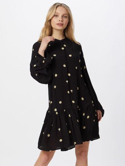 Envii Kleid 'MIMER' in beige / schwarz, Modelansicht