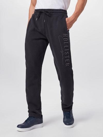 HOLLISTER Byxa i svart, På modell