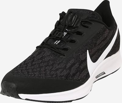 Sportiniai batai 'Zoom Pegasus 36 Fly Ease' iš NIKE , spalva - juoda / balta, Prekių apžvalga