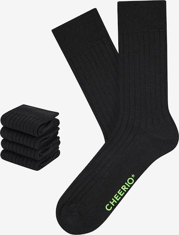CHEERIO* Socks in Black