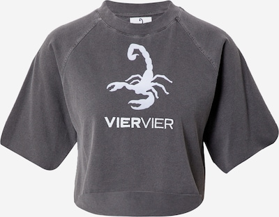 VIERVIER Shirt 'Zoe' in Grey, Item view