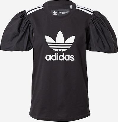ADIDAS ORIGINALS T-shirt en noir / blanc, Vue avec produit