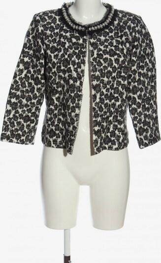 La Fée Maraboutée Kurz-Blazer in XL in hellgrau / schwarz / weiß, Produktansicht