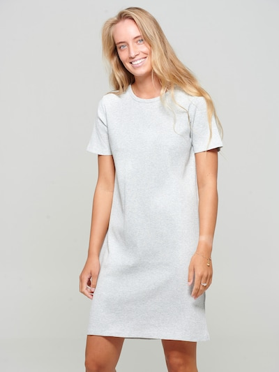 Noella Kleid in grau, Modelansicht