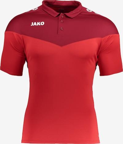 JAKO Funktionsshirt 'Champ' in rot / dunkelrot / weiß, Produktansicht
