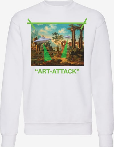 Openspace Sweatshirt in weiß, Produktansicht