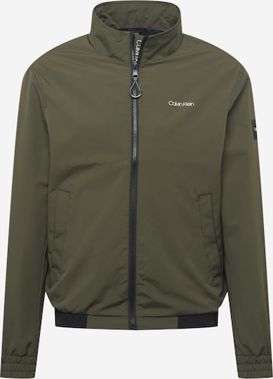 Calvin Klein Between-Season Jacket in Olive / Black, Item view