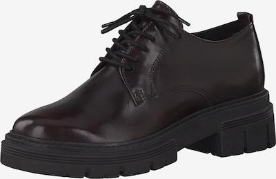 Pantofi cu șireturi MARCO TOZZI pe roșu bordeaux, Vizualizare produs