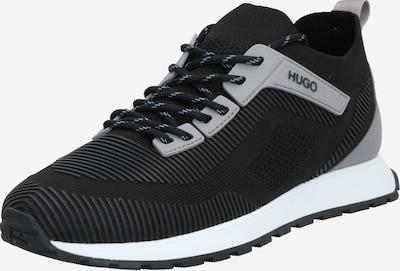HUGO Baskets basses 'Icelin' en gris clair / noir, Vue avec produit