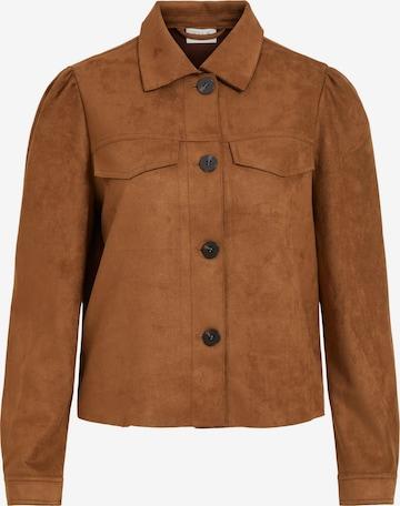 VILA Between-Season Jacket in Brown