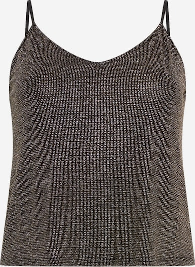 ABOUT YOU Curvy Top 'Celia' in schwarz / silber, Produktansicht