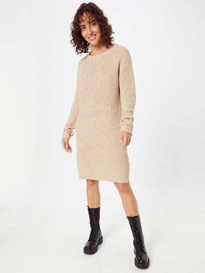 Noisy may Gebreide jurk 'Siesta' in de kleur Lichtbeige, Modelweergave