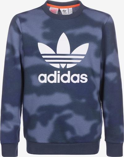 ADIDAS ORIGINALS Sweatshirt in marine / taubenblau / weiß, Produktansicht