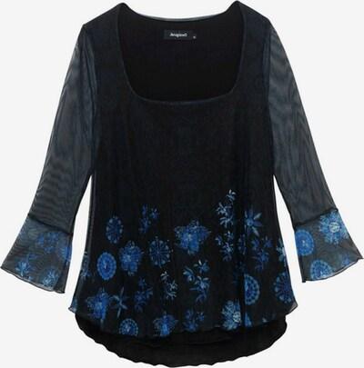 Desigual Shirt 'CARRIE' in blau / schwarz, Produktansicht