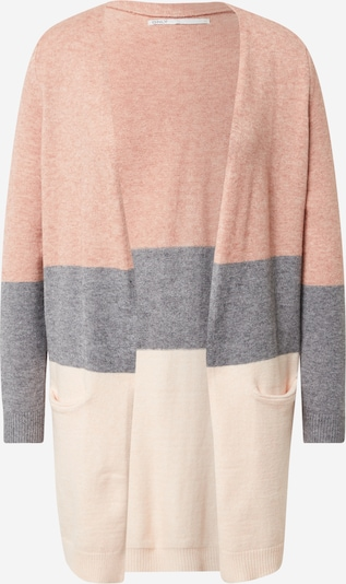 ONLY Knit cardigan in Beige / mottled grey / Dusky pink, Item view