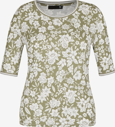 Thomas Rabe Shirt in grün / weiß, Produktansicht