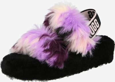 UGG Sandalias 'OH YEAH TIE DYE' en lila / negro, Vista del producto