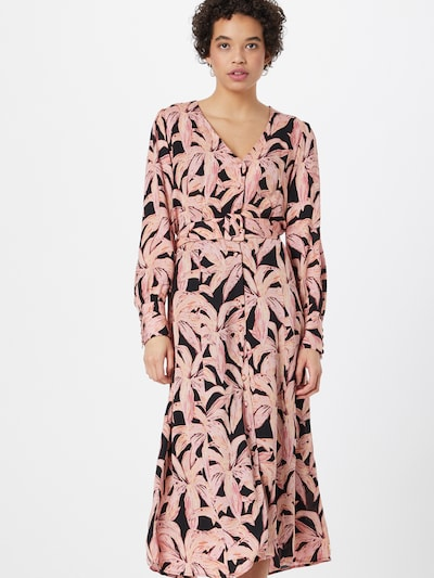 Fabienne Chapot Blousejurk 'Suraya Isa' in de kleur Goudgeel / Rosa / Rosé / Oudroze / Zwart, Modelweergave