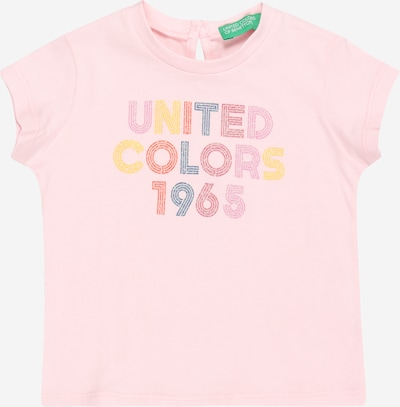 UNITED COLORS OF BENETTON T-Shirt in mischfarben / rosa, Produktansicht