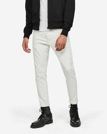 G-Star RAW Jeans '3301 Slim' in Weiß