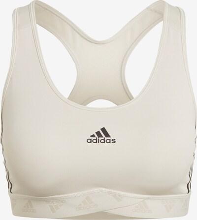 ADIDAS PERFORMANCE Sport-BH in beige, Produktansicht