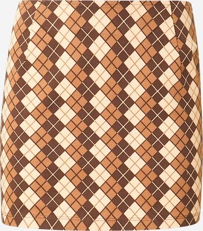 Motel Kjol 'Ima' i brun / cappuccino / ljusbrun, Produktvy