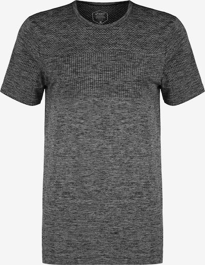 ASICS Trainingsshirt in grau / schwarzmeliert, Produktansicht