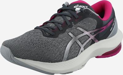 ASICS Chaussure de sport 'GEL-PULSE 13' en gris / fuchsia / blanc, Vue avec produit