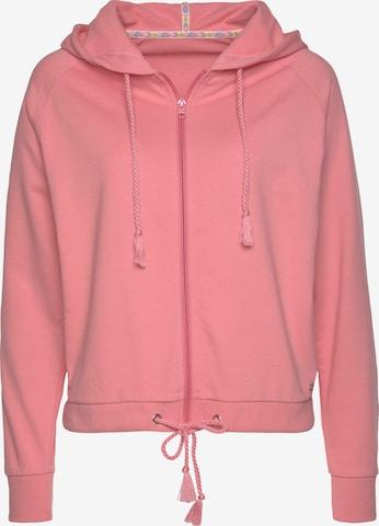 BUFFALO Sweatjacke in Pink