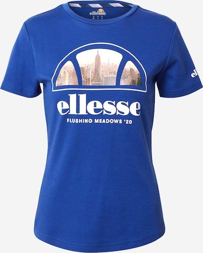 ELLESSE Shirt 'Bayside' in de kleur Blauw / Wit, Productweergave