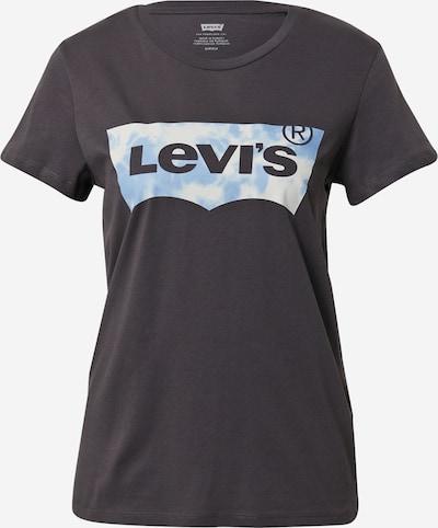 LEVI'S Majica u sivkasto plava / crna / bijela, Pregled proizvoda