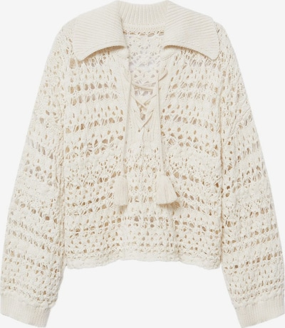 MANGO Pullover 'Holbox' in nude, Produktansicht