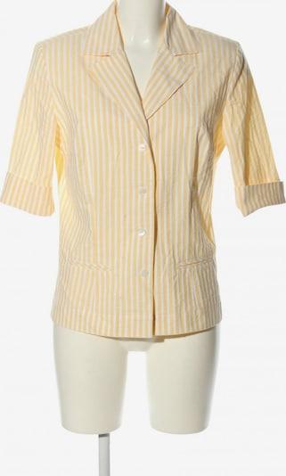 B.M.-company Hemd-Bluse in M in pastellgelb / weiß, Produktansicht
