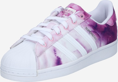 Sneaker bassa 'SUPERSTAR' ADIDAS ORIGINALS di colore lilla / bacca / lilla pastello / bianco, Visualizzazione prodotti