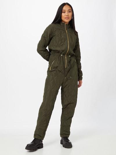 modström Jumpsuit 'Krystal' in Olive, View model