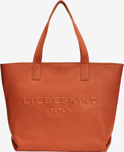 Liebeskind Berlin Cabas 'Hannah' en orange, Vue avec produit