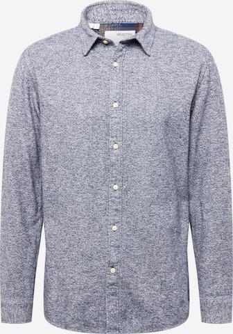 Camicia di SELECTED HOMME in blu