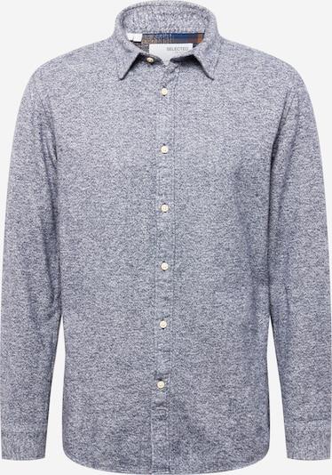 SELECTED HOMME Hemd in blaumeliert, Produktansicht