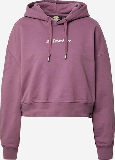 DICKIES Sweatshirt 'Loretto' in de kleur Lila / Wit, Productweergave