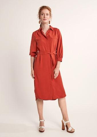 COMMA Kleid in Orange