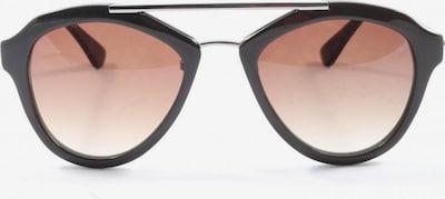 Liebeskind Berlin ovale Sonnenbrille in One Size in schwarz, Produktansicht