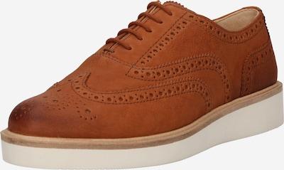 Pantofi cu șireturi CLARKS pe maro coniac, Vizualizare produs