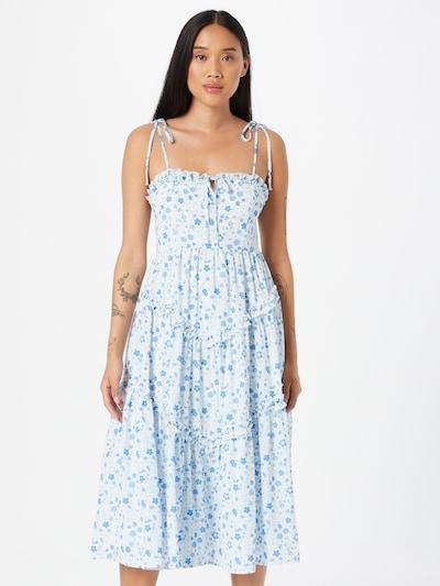 NA-KD Kleid in blau, Modelansicht