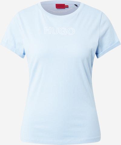 HUGO Tričko - svetlomodrá / biela, Produkt